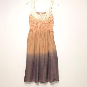 Philosophy di Alberta Ferretti Ombré Silk Dress 6
